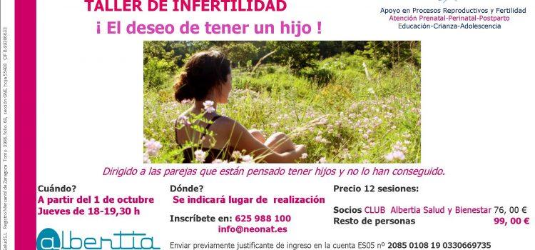 TALLER DE INFERTILIDAD