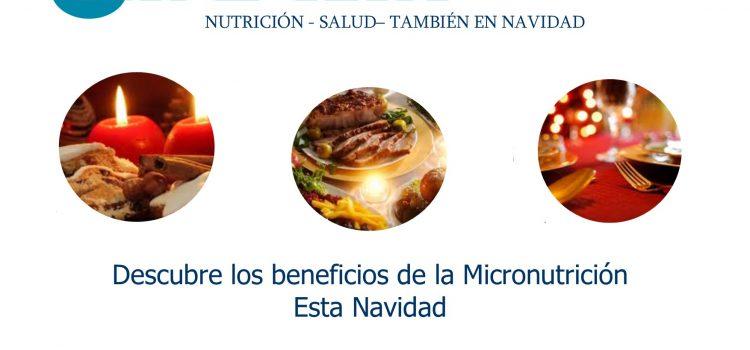 Micronutrición también en Navidad.