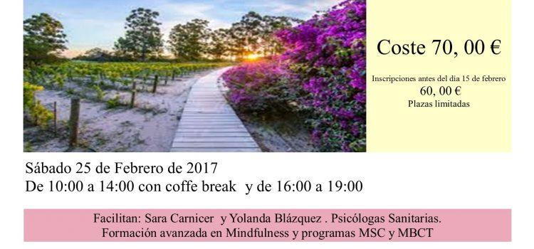 MINDFULNESS- PROFESIONALES SANITARIOS