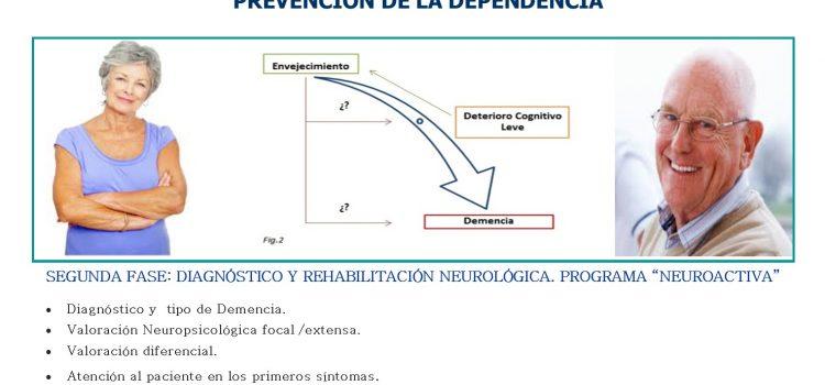 Activa y Vitalmente.  Prevención de la Dependencia.