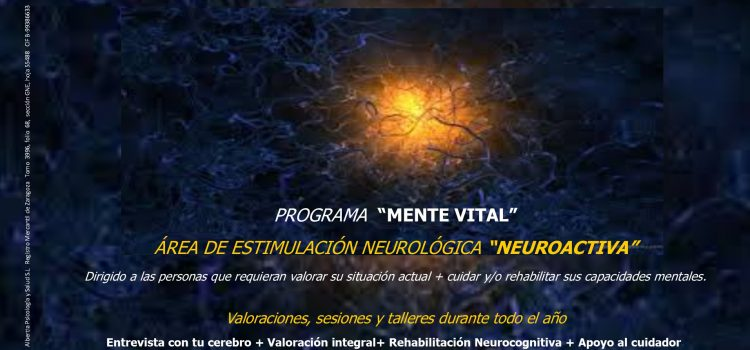 PROGRAMA MENTE VITAL. NEUROACTIVA