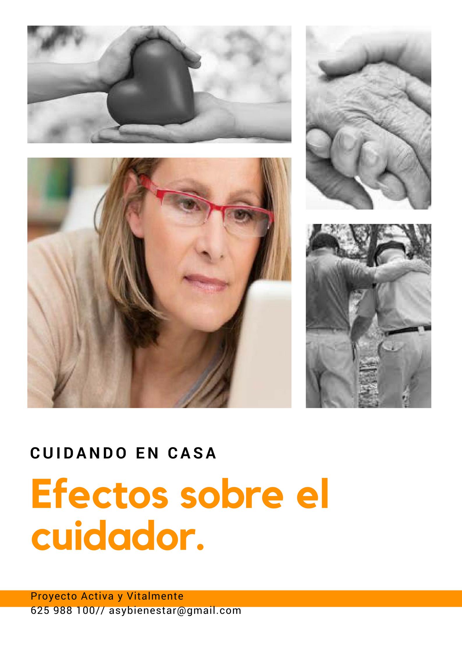 EFECTOS SOBRE EL CUIDADOR