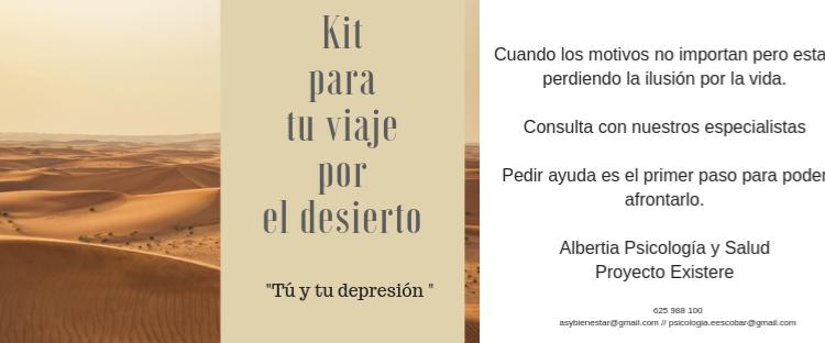 Proyecto Existere.                  Tú y tu Depresión